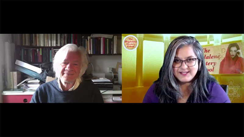 Lars Muhl in conversation with Manjir Samanta-Laughton from The Magdalene Mystery School