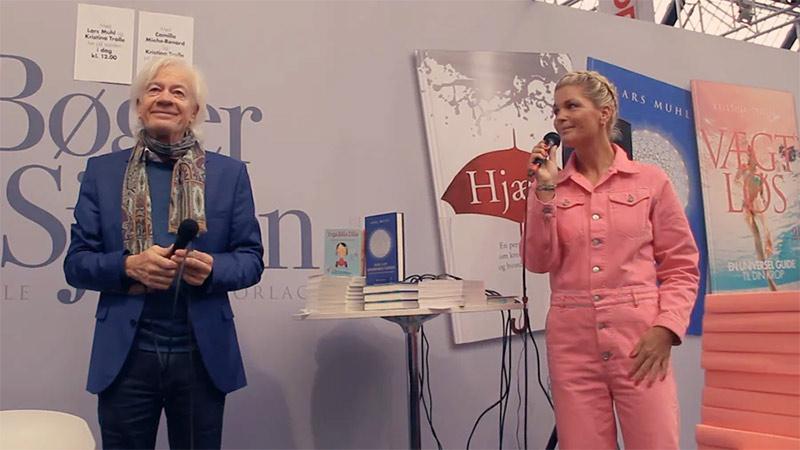 Lars Muhl og Kristina Trolle i samtale på Bogforum 2018