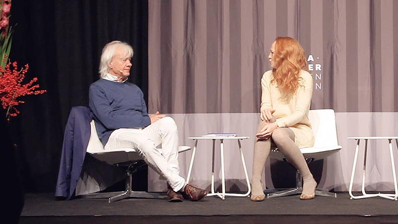 Lars Muhl og Pernille Bergendorff i samtale om 'Lyset i et menneskes hjerte'