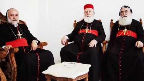 Til te med biskopperne i Siddnaya