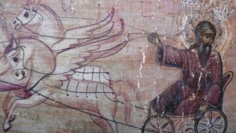 Den Aramæiske Himmelbøn og Ildvognen