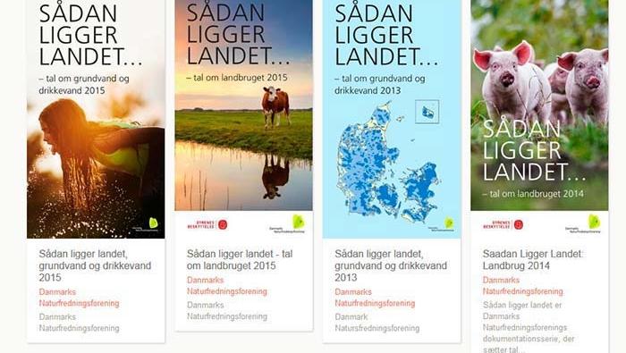 Sådan ligger landet – forurening af drikkevand og miljø i Danmark
