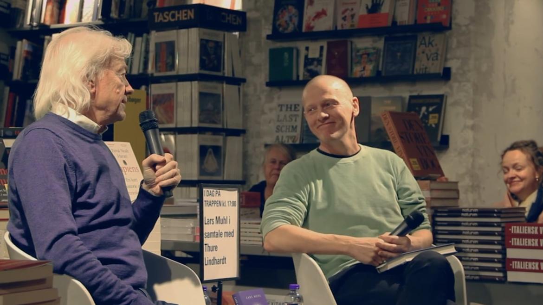 Lars Muhl og Thure Lindhardt i samtale om 'Lyset i et menneskes hjerte'