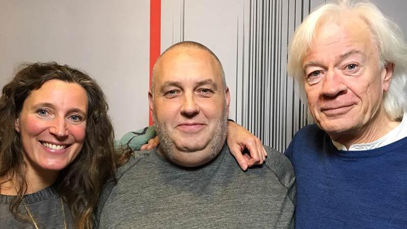 Lars Muhl i radioprogrammet Croque Monsieur