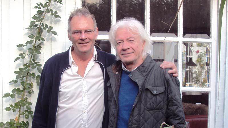 Mikrofonholder: Lars Muhl og Lars Møller