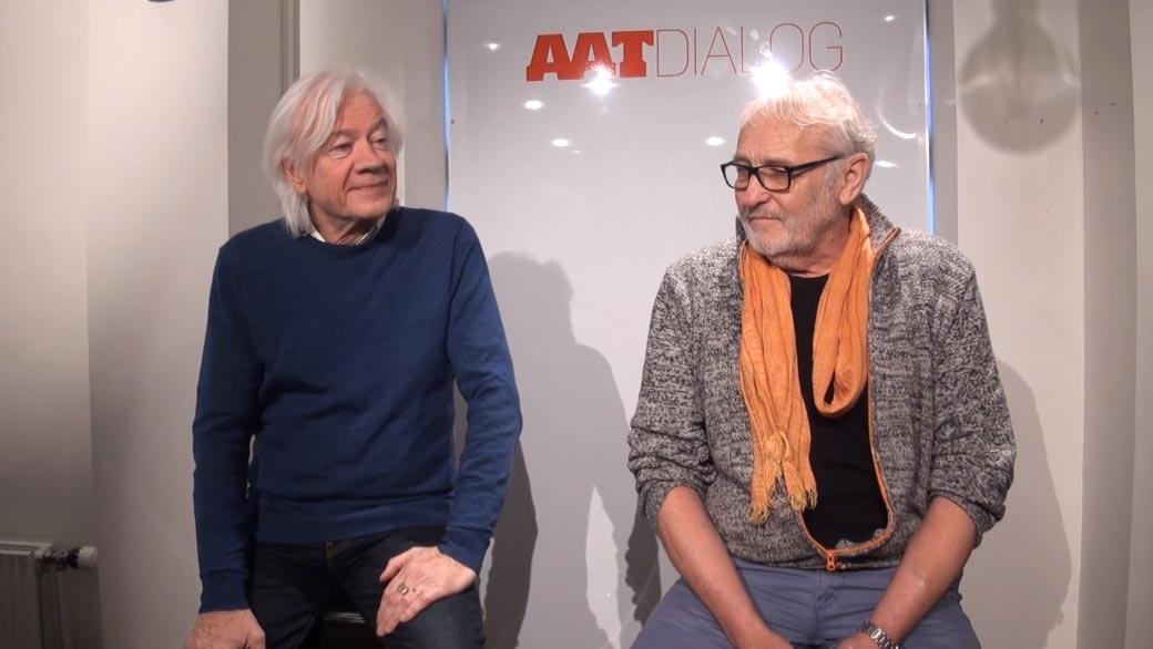 Lars Muhl og Niels Hausgaard – dialog om 'sande værdier' på Aalborg Teater