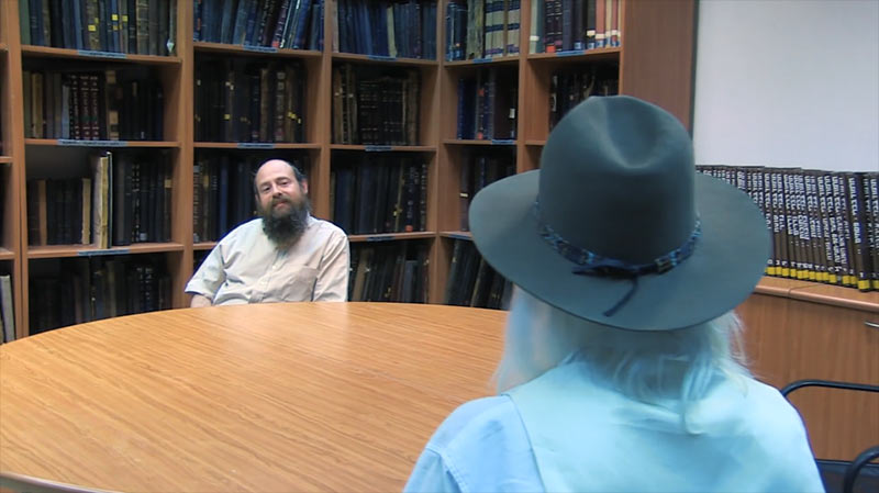 Lars Muhl meets rabbi Even Israel
