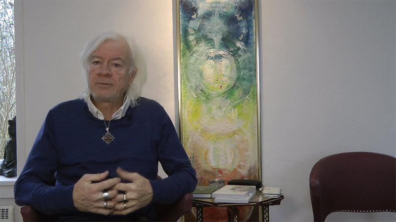 Lars Muhl on his spiritual authorship
