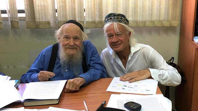 Det helligste af det helligste – møde med Adin Steinsaltz