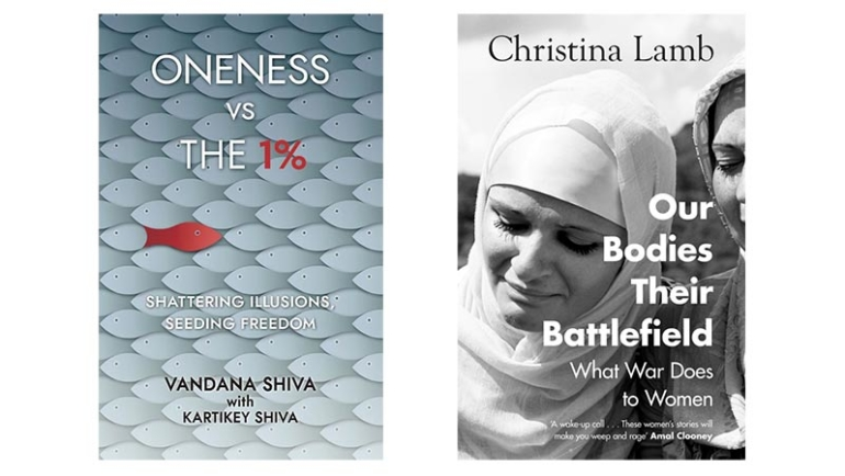 Two inspirational books by Vandana Shiva and Christina Lamb