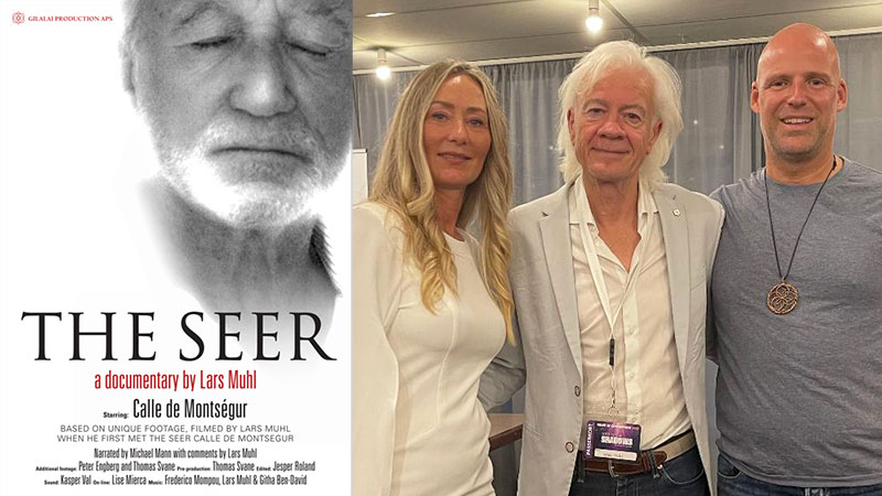 Showing of 'The Seer' film and Q&A in Trelleborg, Sweden, 13 October 2021